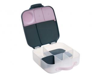Svačinový box - indigo/růžový 9