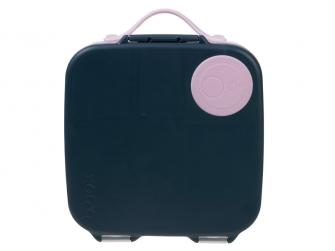 Svačinový box - indigo/růžový 3