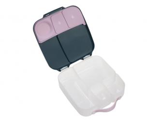 Svačinový box - indigo/růžový 5
