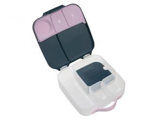 Svačinový box - indigo/růžový 6