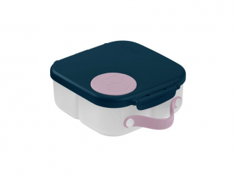 Svačinový box střední - indigo/růžový