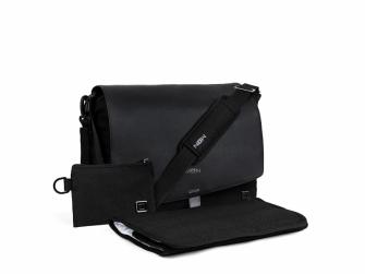 Přebalovací taška Black/black 2021