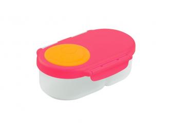 Svačinový box malý - růžový/oranžový