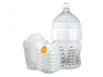 Kojenecká láhev 140 ml, ohřívač, dudlík a nádoba na ohřívač - Y15B1W1P 2