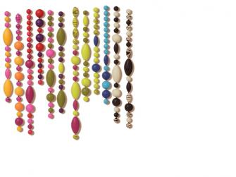 Spojovací korále a tvary Pop Arty 500 ks 4