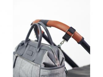 Přebalovací taška na kočárek EMMA, grey 9