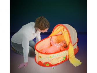 Cestovní postýlka pro miminko Nomad Kočička 6