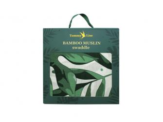 Bambusová mušelínová plena Roaming Mangrove 120x120 cm