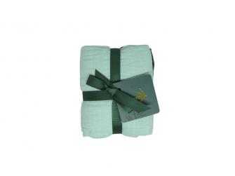 Bavlněná mušelínová plena Mangrove Green Set 70x70 cm, 2ks