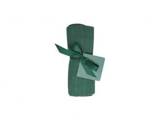 Bavlněná mušelínová plena Mangrove Green 70x70 cm