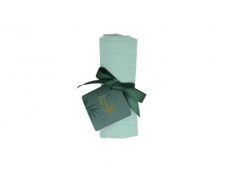 Bavlněná mušelínová plena Dreamy Green 70x70 cm