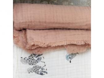 Bavlněná deka Faded Rose 2019 5