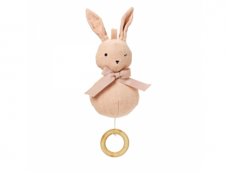 Music Mobile Powder pink Bunny