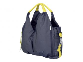 Green Label Neckline Bag denim blue 2