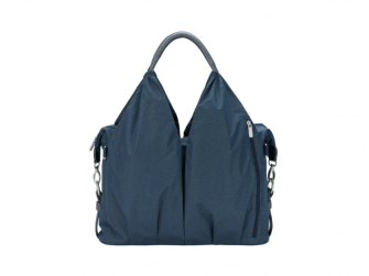 Green Label Neckline Bag Spin Dye blue mélange