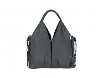 Green Label Neckline Bag Spin Dye black mélange