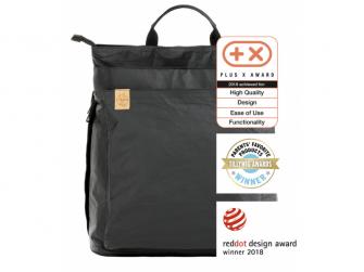 Green Label Tyve Backpack black