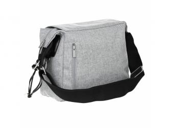 Green Label Small Messenger Bag Update black mélange 3