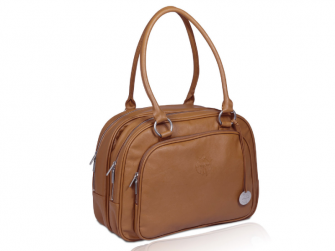 Tender Multizip Bag cognac
