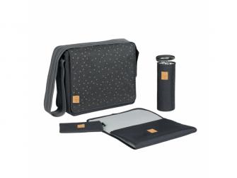 Casual Messenger Bag Triangle dark grey 3