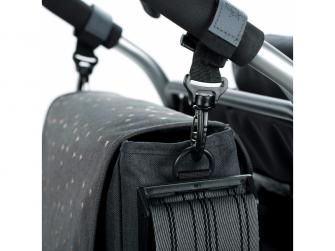 Casual Messenger Bag Triangle dark grey 5