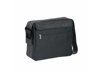 Casual Messenger Bag Triangle dark grey 6