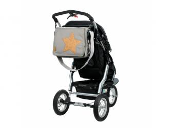 Casual Messenger Bag Cork Star light grey 5
