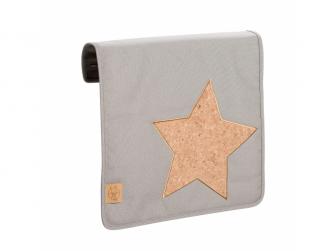 Casual Messenger Bag Cork Star light grey 8