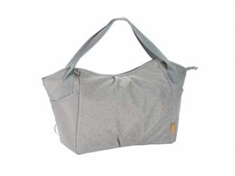 Casual Twin Bag Triangle light grey