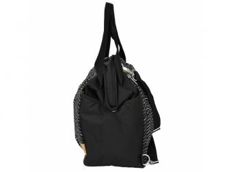 Casual Twin Bag Zigzag black white 2