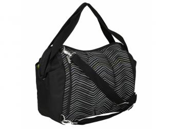 Casual Twin Bag Zigzag black white 3
