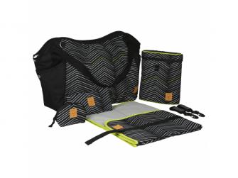 Casual Twin Bag Zigzag black white 6