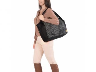 Casual Twin Bag Zigzag black white 7