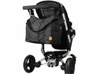 Casual Twin Bag Zigzag black white 8