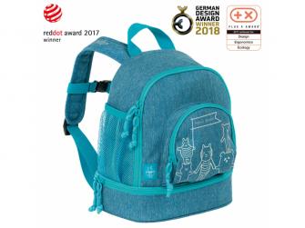 Mini Backpack About Friends mélange blue 2