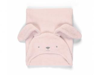 Osuška s kapucí Pink Bunny