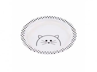 Plate with Silicone Little Chums cat