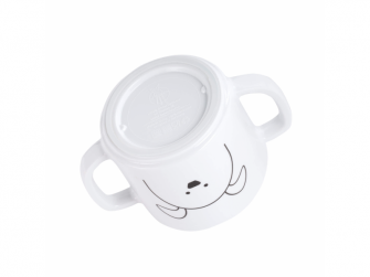 Cup with Silicone Little Chums dog 6