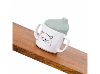 Cup with Silicone Little Chums cat 5