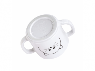 Cup with Silicone Little Chums cat 6