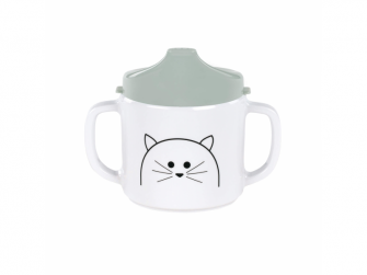 Cup with Silicone Little Chums cat