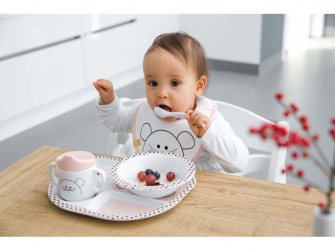 Small Bib Waterproof Little Chums mouse 3