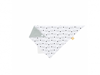 Interlock Bandana with silicone teether Little Chums cat 2