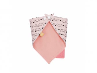 Interlock Bandana with silicone teether Little Chums mouse 2