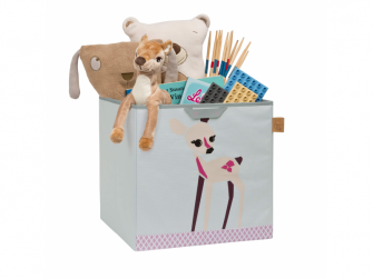 Toy Cube Storage Little Tree fawn 2