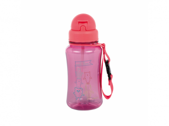Drinking Bottle About Friends pink 2