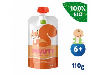 Muuti BIO Mango s mrkví a rakytníkem (110 g) 6+ měsíců