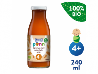 Ponn BIO Mrkvová šťáva s dužinou (240 ml)