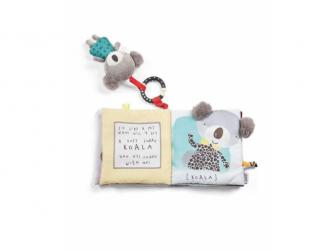 Textilní knížka s aktivitami koala Koko 2