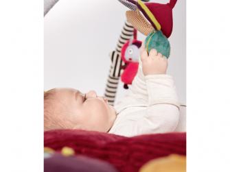 Hrací deka s hrazdou Beruška Lotty 6